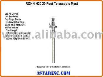 CM 1620 / 1820 Telescopic Mast Replacement