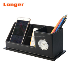 New hot saling leather desk organizer