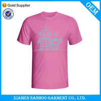 Low MOQ Wholesale Tee Shirts Printed Company Logo T Shirt 100% Cotton Customised
