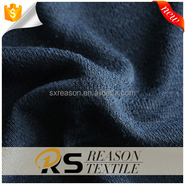 2017 factory wholesale 100%polyester single sided hacci knit fabric
