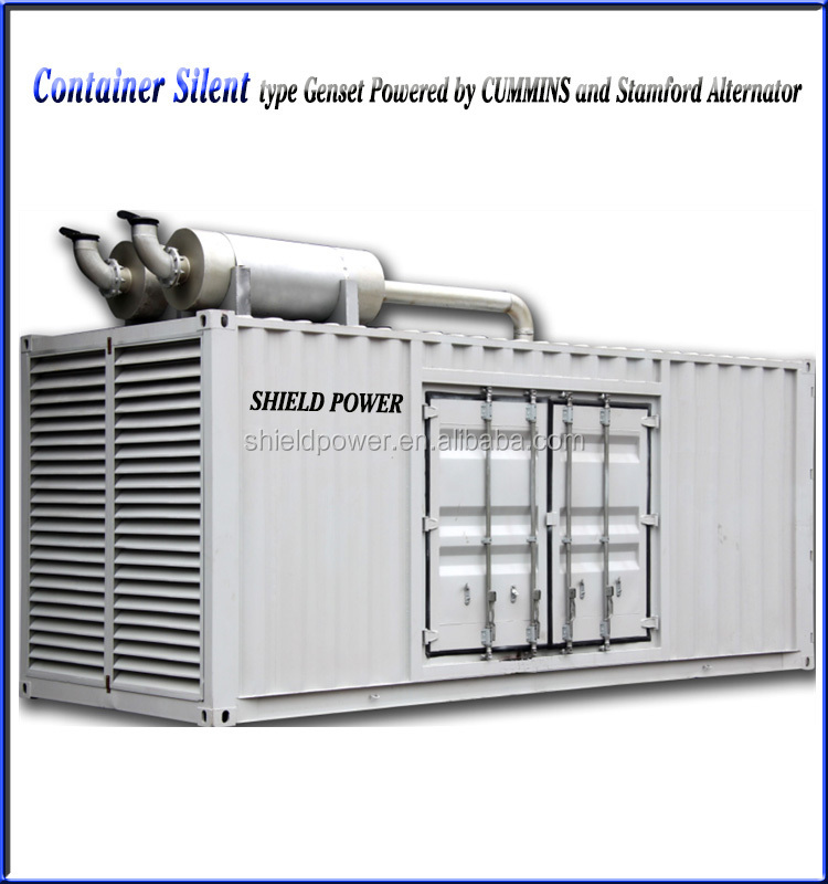 China Diesel Generator Set 10KW-2400KW Silent/Open Type ISO Certificated Generator