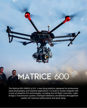 DJI Matrice 600 + Ronin-MX for Filmmakers and Industrial applications Multiple gimbals supported ( not include camera )