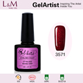 GelArtist 10ml Gel Polish Soak Off Color Gel Nail uv Polish