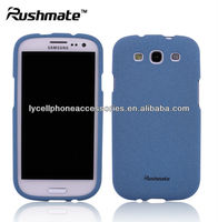 Quicksand MobilePhone Skin Cover Case for Samsung Galaxy S3 i9300 Blue Matte Hard Protector Case
