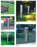 High quality brightness waterproof outdoor led/energy saving garden fashional stainless steel led lawn light