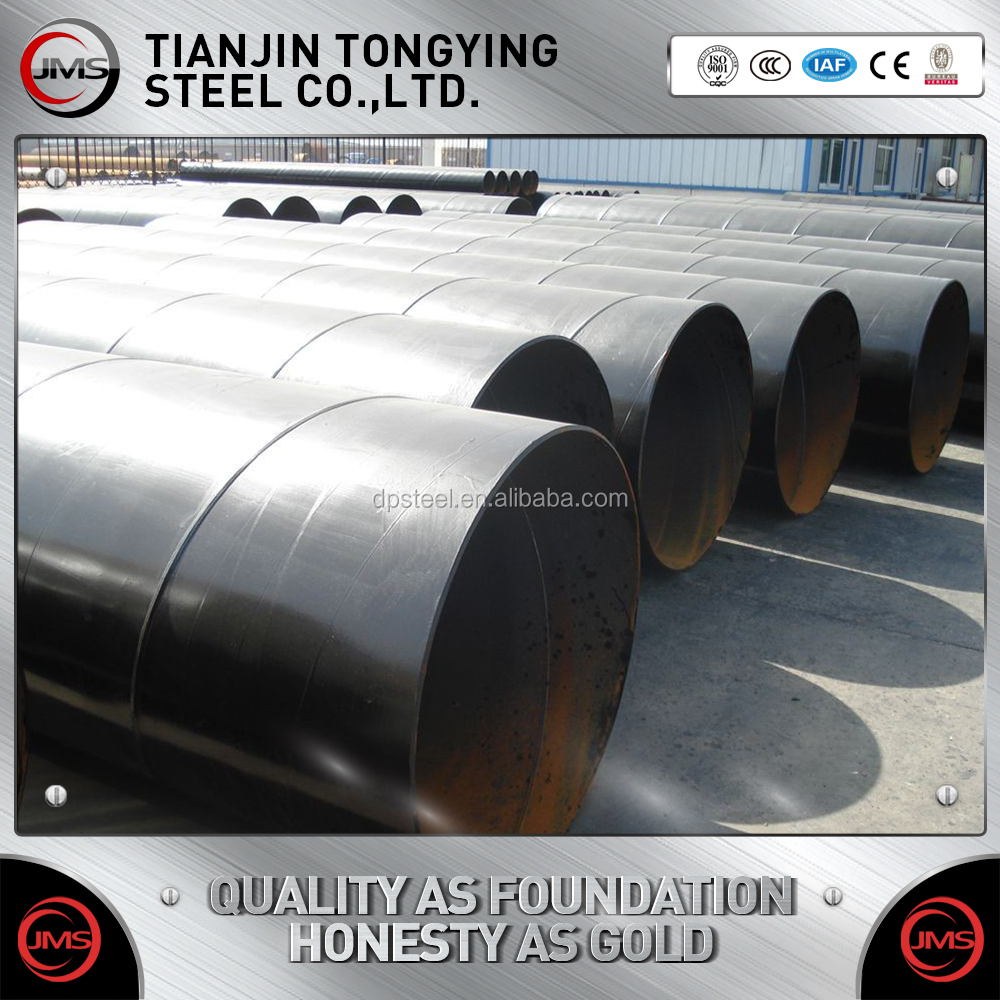 Contruction Materials/ DIN EN API 5L SSAW/HSAW/ERW High Strength Spiral Welded Steel Pipe/Tube for Oil and Gas