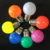 Waterproof IP65 Color E27 G45 LED Bulb 1W 0.5W with 8 different color for Christmas Decoration