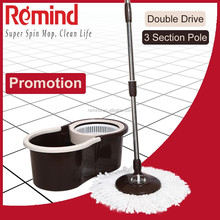 New Easy Cleaning Microfiber Spin Mop with Adjustable Mop Handle