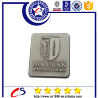 Personalized metal Square name badge