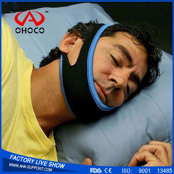 2016 New Design Adjustable Anti Snoring Devices Stop Snoring Aids Belt Snore Stopping Chin Strap