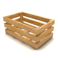 Vintage Style Wholesale Cheap Wooden Fruit Crates For Sale