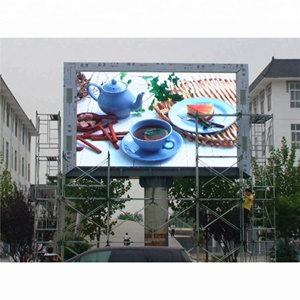 High performance ultra thin design full color advertising p10 led display outdoor LED screen