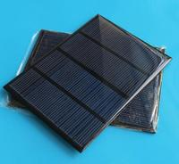 12V 100mA 1.5W small Mini monocrystalline polycrystalline solar Panel solar cell 18V charger for 12V battery