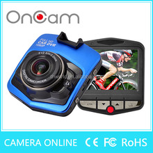 Oncam mini camera car dvr 2.4 TFT LCD display camera video for car with G-sensor