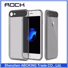 ROCK Ace Series Protective TPU Case for iPhone 7 7 plus Slim Crystal Clear Cover