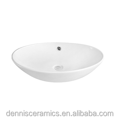 DNS-539 Table Top Shell Shaped Bathroom Sink