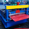 Small wave roll forming machinery roof shingles machine
