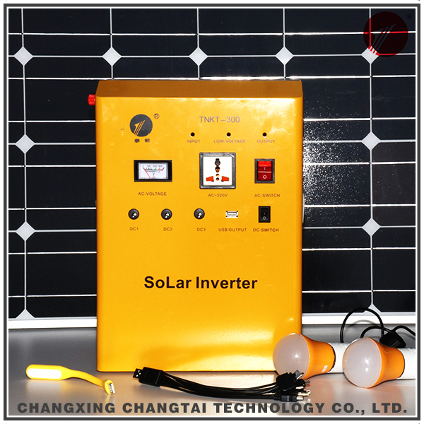 Easy installation off-grid 500w inverter solar power system for home use