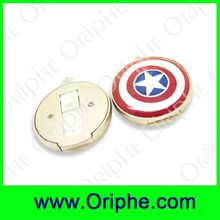 Custom made shield of Captain America usb flash drive