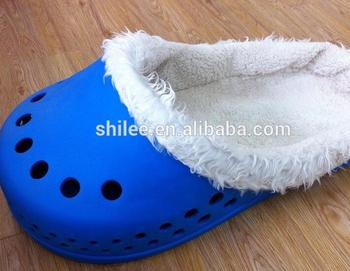 SHILEE Wholesale Popular Functional Design CROC Slipper Bed/ Shoe Shape Cat Bed/Cat Slipper Bed