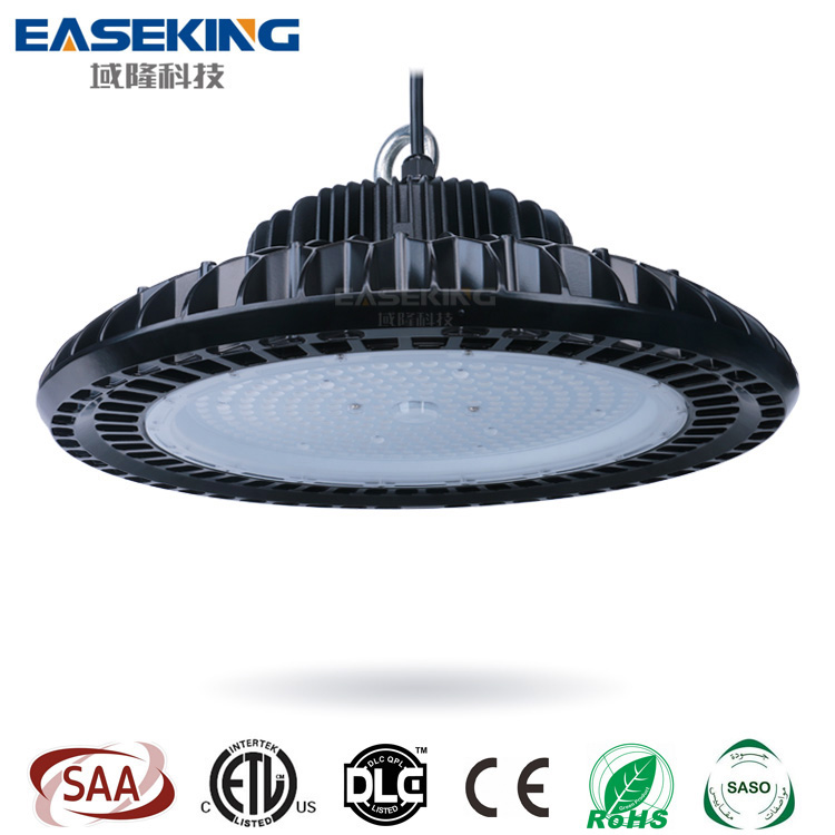 Ul/dlc/ce/rohs 120lm/w Or 140lm/w 100w 150w 200w 240w Ip65 Ufo Led Industrial High Bay Light