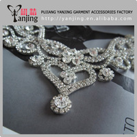 Heavy soled super beautiful models rhinestones glass flowers diy wedding garment accessory