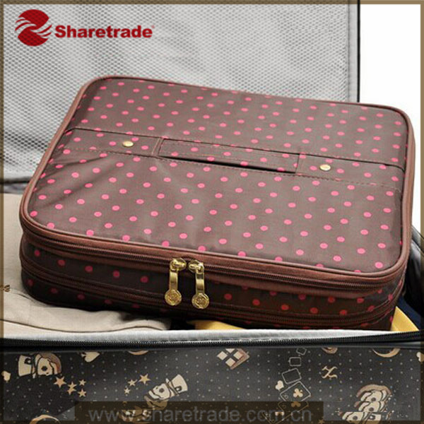 Promotional Red Dot Cosmetics Bag For Ladies