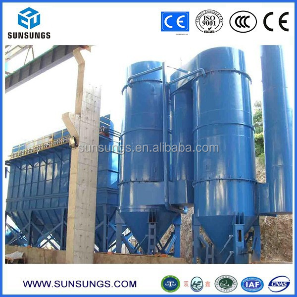SX-G-D series simultaneous removal of sulfur and dust gas disposal wet scrubber dust catcher