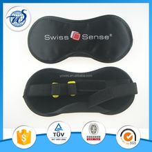 Sleep eye mask with earplugs
