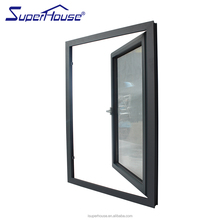 aluminium double toughened glass mullion casement window with America CSA standard