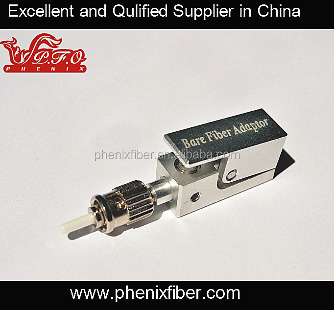 ST Metal bare fiber optic adaptor