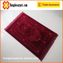 classic thick mosque prayer mat,prayer rugs for muslim,rolls for sale from china supplier