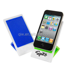 Plastic Sticky foldable Cell Phone Holder , handphone stand