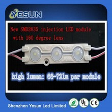New products 12v 2835 LED module for decoration light