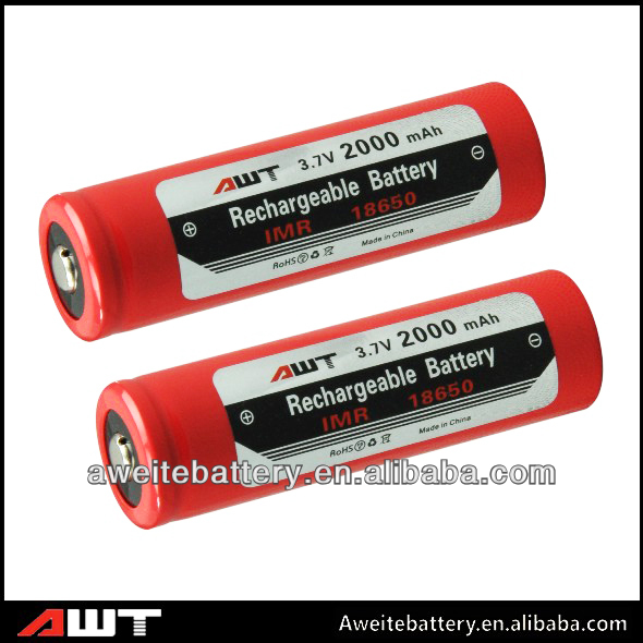 18650 2000mAh Super Quality HS Code Battery