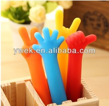 finger pen,gesture finger pen , flexible finger pen ,TPE ball pen