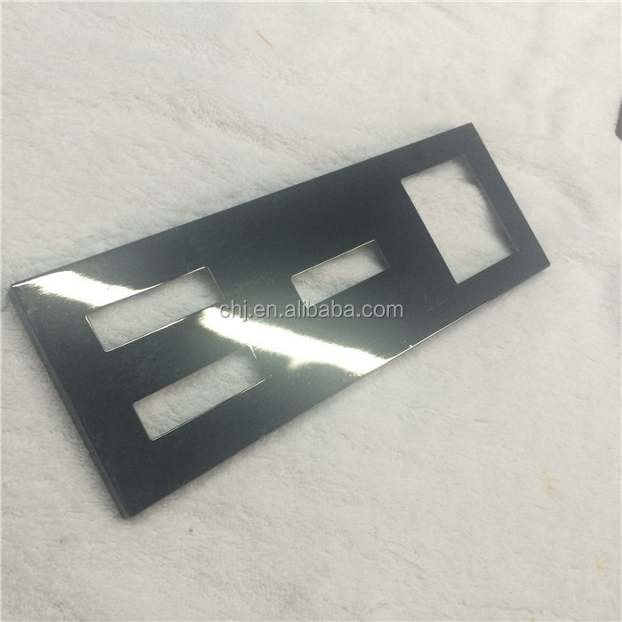 metal sheet in black dull nick plated ,nick free plating , providing precious metal plating process