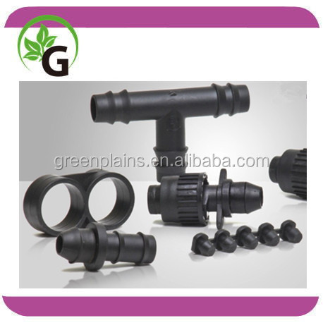 Drip Irrigation Fittings 16mm 20mm Barbed Fittings