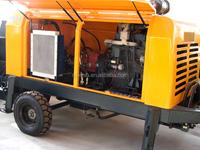 xiniu 40m3 Trailer concrete pump diesel engine concrete pump