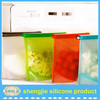 OEM/ODM welcome silicone cooking bag food container with zipper fresh vegetable bag