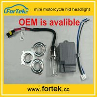 Factory supply 6000k mini motorcycle hid projector headlights price 12v 25w,china manufacturer