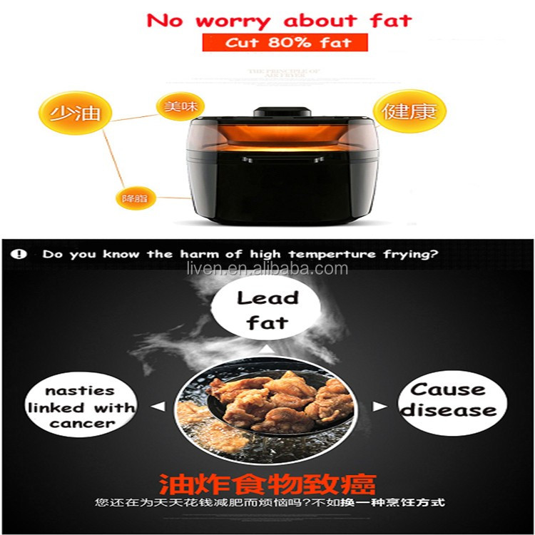 KZ-D1001 HOT SALE ELECTRIC DEEP FRYER WITHOUT OIL