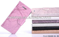 For LG Optimus Sol E730 phone leather book case stand case