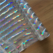 Good Corona Treated Seamless Rainbow Holographic Metalized Film