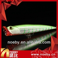 hard lure popper fishing 140mm 40g plastic floating painted lure