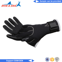 Diving equipment swimming warm scuba customize silicone diving webbed gloves
