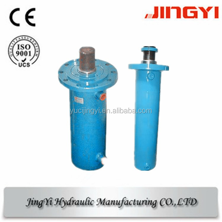 large custom hydraulic cylinder for 3 roller plate bending machine