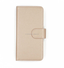 High Quality Cross Pattern PU Leather Wallet Phone Case With Make Up Mirror For Samsung Galaxy Note 8