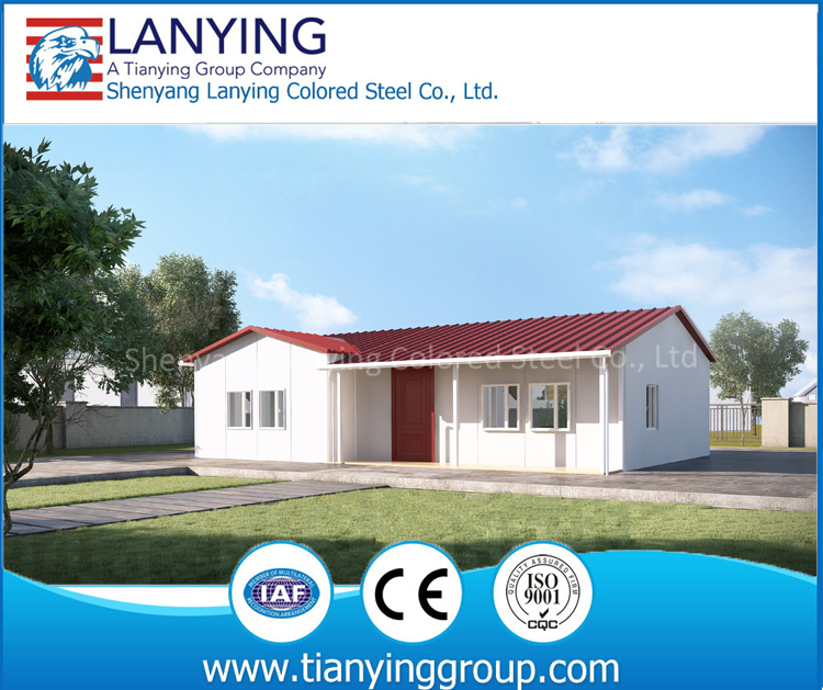 Good design economic living light steel precabricated house