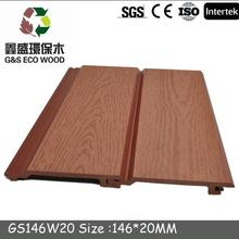 Outside WPC Wall Covering Panels high quality wood plastic composite cheap price wpc wall claddings
